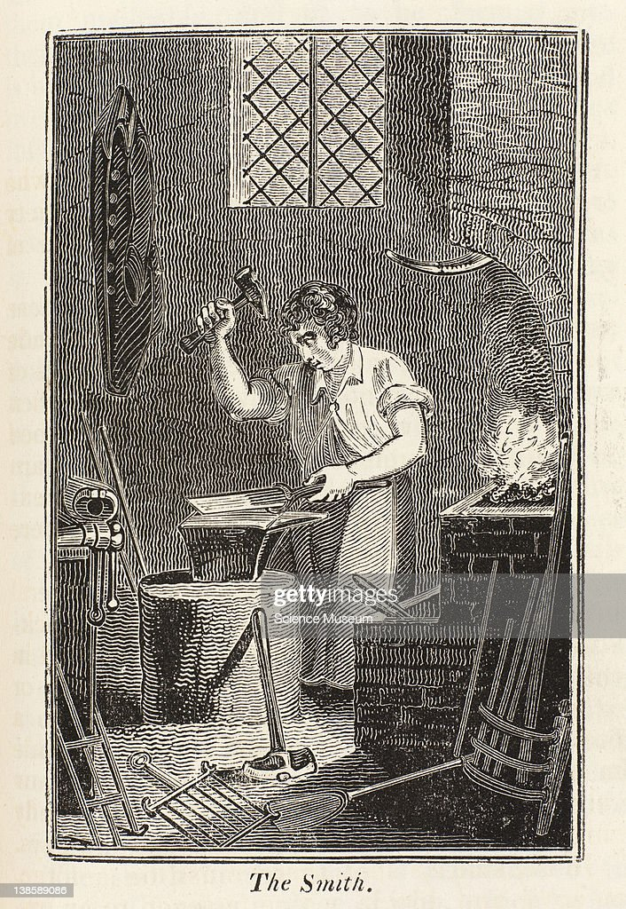 A smith is one who works on iron and who from that metal manufactures a vast variety of articles useful in the arts of life and of great importance...