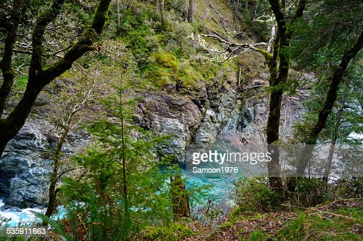 Smith River Gorge : Foto de stock