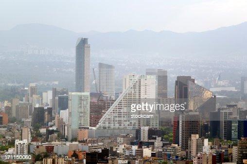 Smog pollution in Mexico City