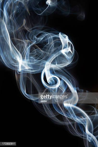 Smoke Abstract  Curly