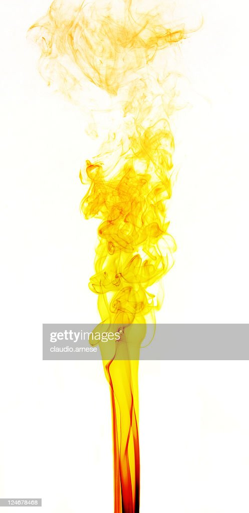 Smoke. Color Image : Stock Photo
