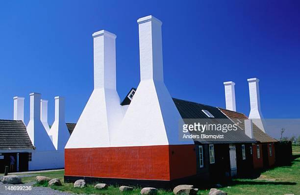 Smoke houses of a Hasle fishery.