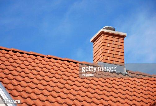 smoke stack and roof