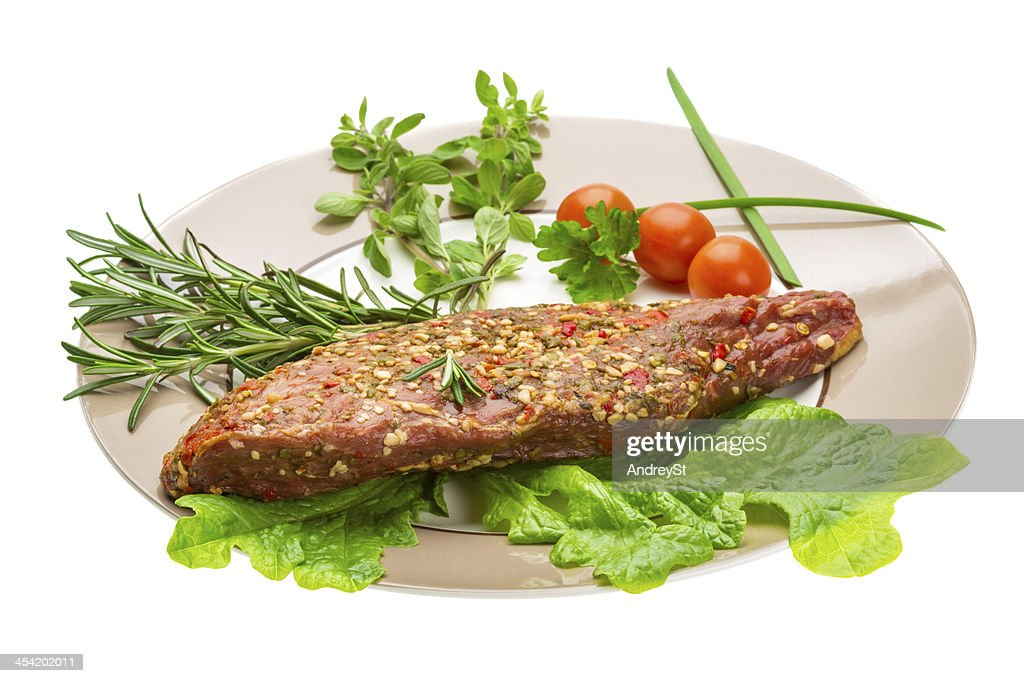 Smoked beef : Stock Photo