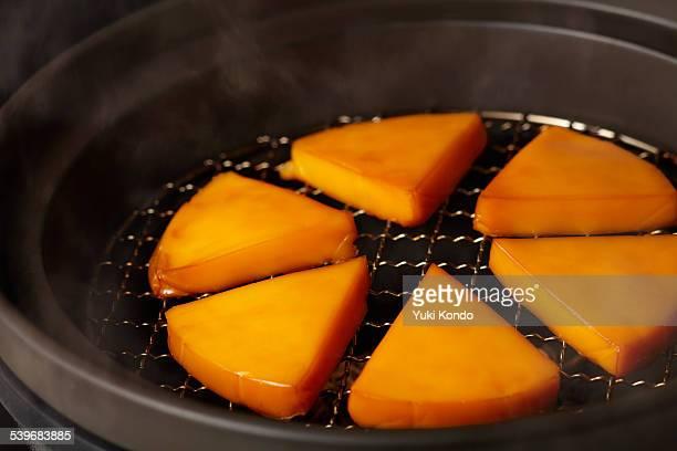 Smoked cheese.