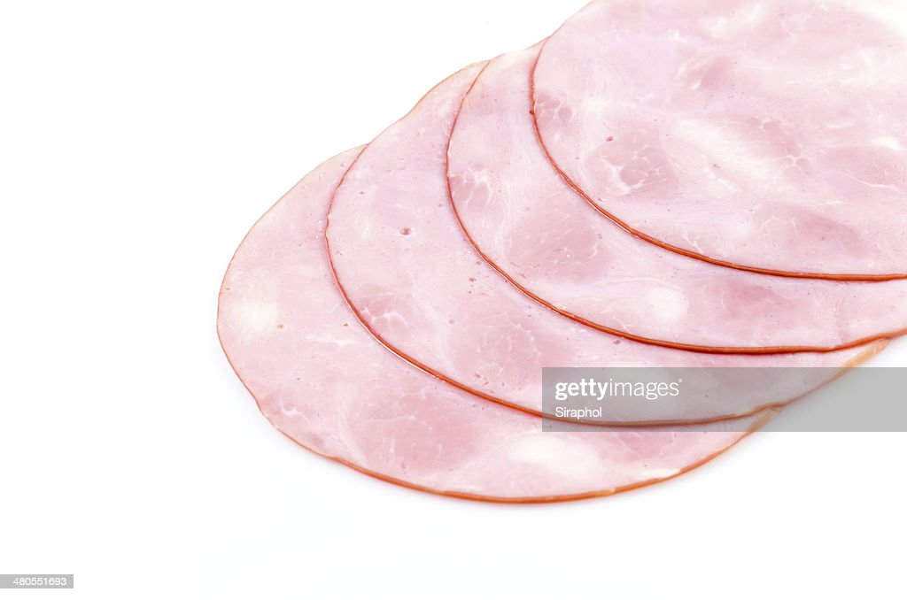 Smoked ham : Stock Photo