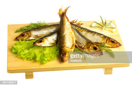 Defumado espadilha-appetizing Lanche : Foto de stock
