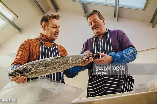 Smokehouse Fish Quality Checking