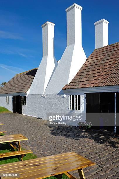 Smokehouse on Bornholm island