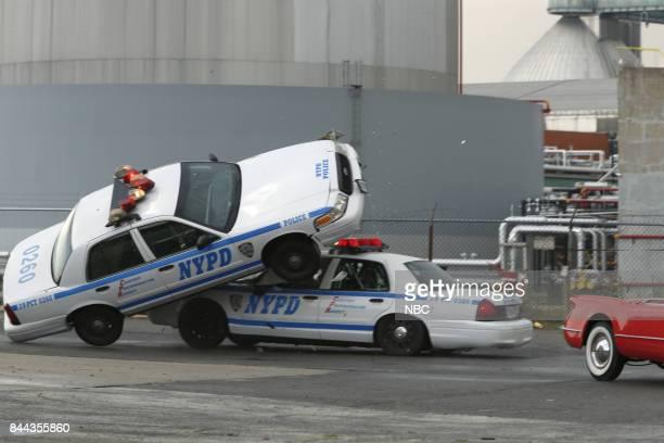 THE BLACKLIST 'Smokey Putnam ' Episode 501 Pictured Car Crash