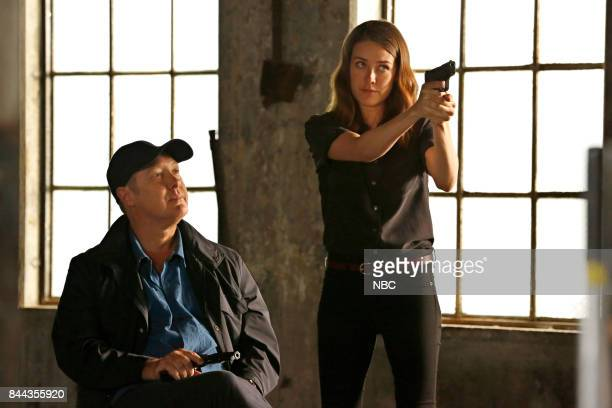 THE BLACKLIST 'Smokey Putnam ' Episode 501 Pictured James Spader as Raymond 'Red' Reddington Megan Boone as Elizabeth Keen
