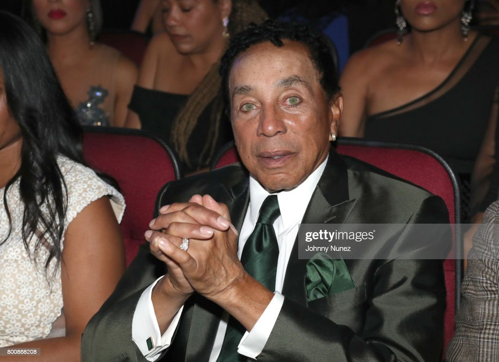 Smokey Robinson at 2017 BET Awards at Microsoft Theater on June 25, 2017 in Los Angeles, California.