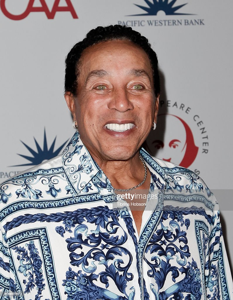 Smokey Robinson attends the 26th Annual Simply Shakespeare Benefit at Freud Playhouse, UCLA on September 19, 2016 in Westwood, California.