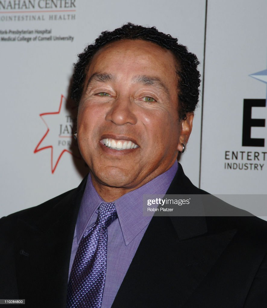 Smokey Robinson during Katie Couric, EIF and NCCRA Present 'Hollywood Meets Motown' Benefit - Arrivals at The Waldorf Astoria Hotel in New York, New York, United States.