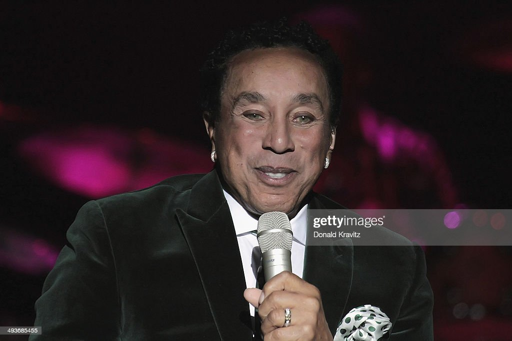 Smokey Robinson In Concert - Atlantic City, New Jersey
