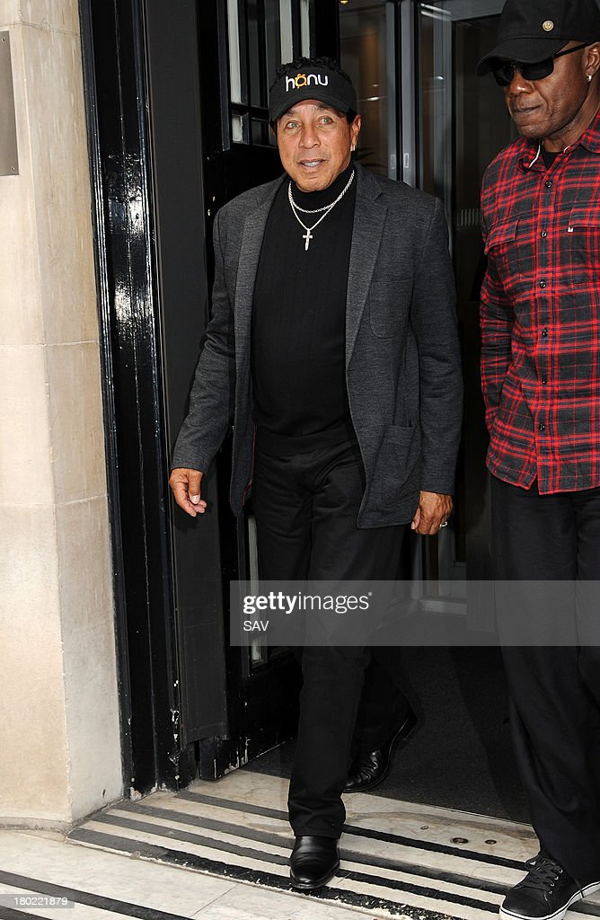 Smokey Robinson pictured at the BBC on September 10, 2013 in London, England.