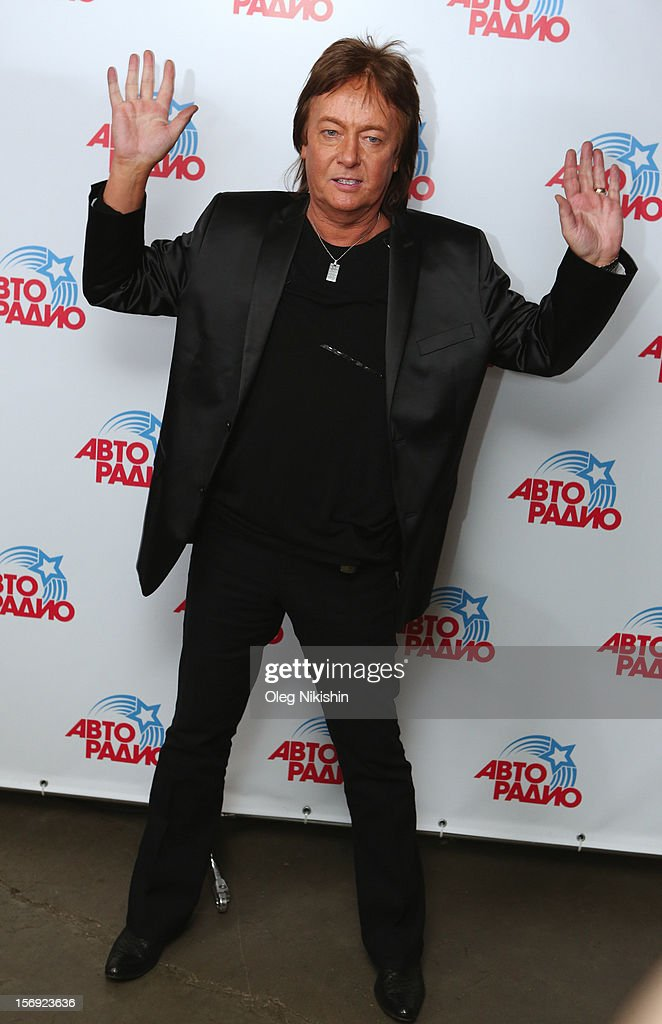 Smokie singer Chris Norman attends the 'Disco Of The 80th Rock & Dance' in Olympisky on November 24, 2012 in Moscow, Russia.