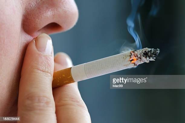 Fumeur de cigarette