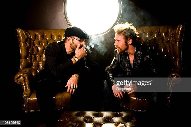 Das Rauchen in den VIP-Raum