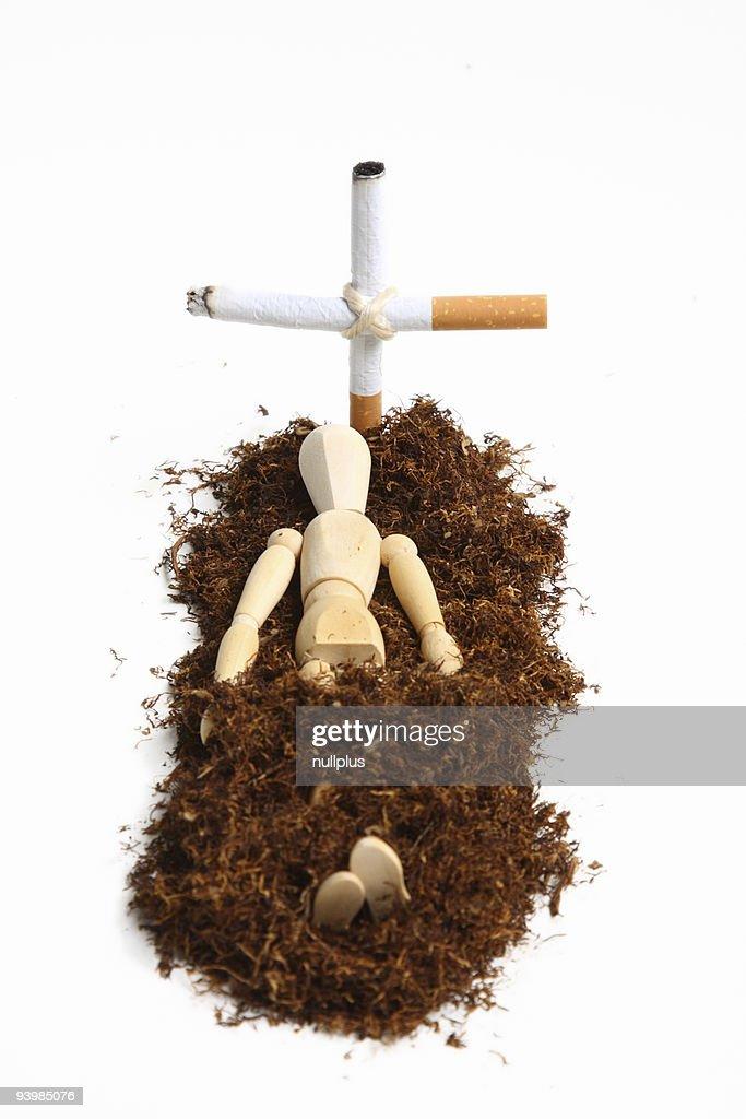 smoking manikin series : Stock Photo