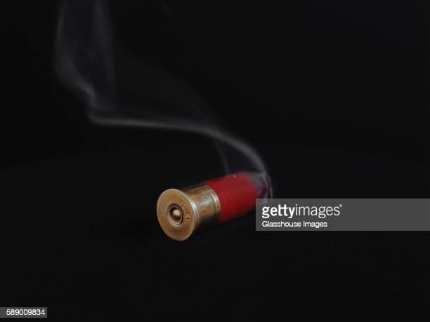 Smoking Shotgun Shell