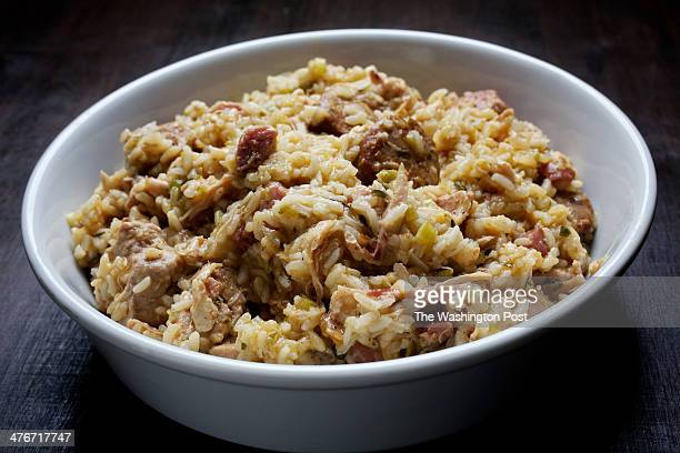 Smoky Chicken and Andouille Jambalaya photographed in Washington DC Photo by Deb Lindsey/For The Washington Post via Getty Images