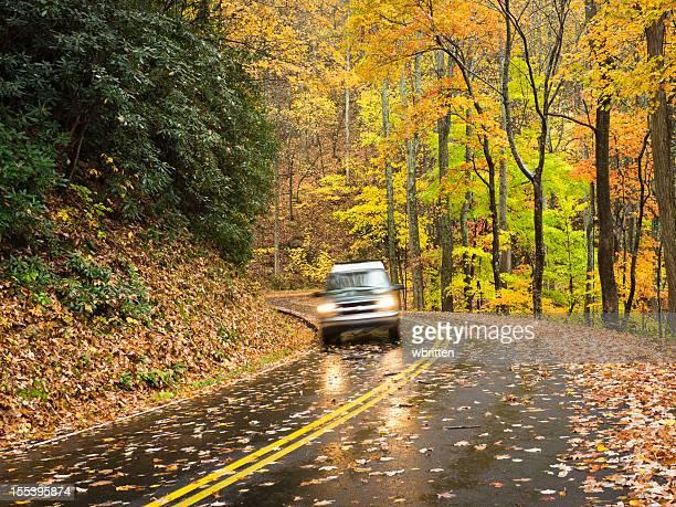 Smoky Mountains Herbst Straßen Series