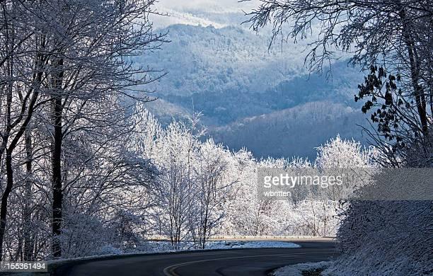 Smoky Mountains Winter Panoramic