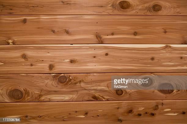 Smooth, Light Brown Cedar Planks