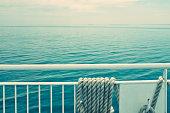 Smooth sailing...