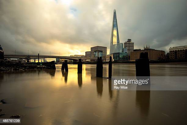 Smooth Thames sunrise