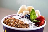 Healthy Smoothie Acai Bowl