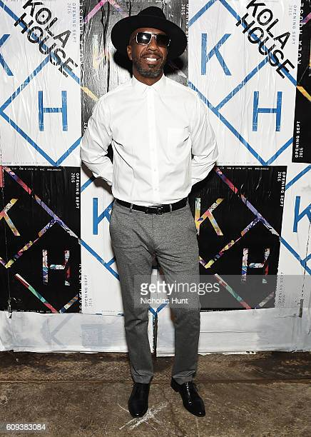 J B Smoove aka Jerry Angelo Brooks attends the Kola House Opening Party at Kola House on September 20 2016 in New York City
