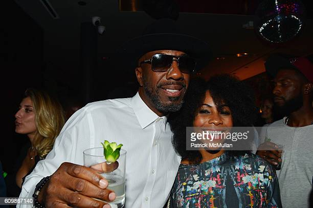J B Smoove and Shah attend the Kola House Opening Party at Kola House on September 20 2016 in New York City