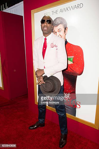 B Smoove arrives at the premiere of Universal's 'Almost Christmas' at Regency Village Theatre on November 3 2016 in Westwood California