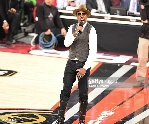 B Smoove attends the 2016 NBA AllStar Saturday Night at Air Canada Centre on February 13 2016 in Toronto Canada