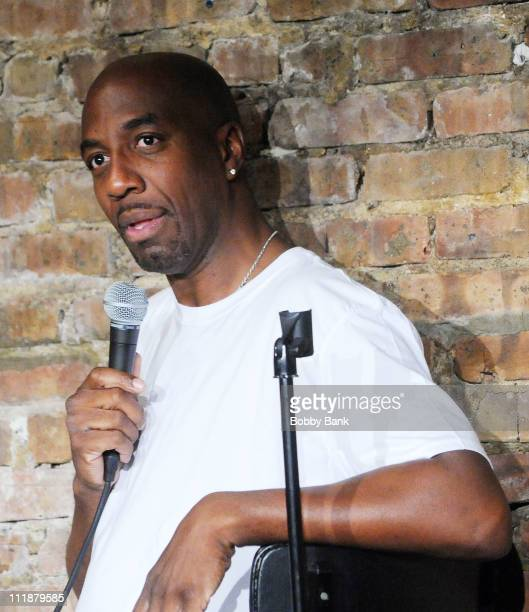 Smoove performs at The Stress Factory Comedy Club on April 7 2011 in New Brunswick New Jersey