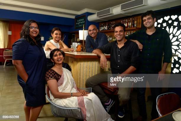 Smriti Kirancreative director of Jio Mami Mumbai Film Festival Meenakshi Shedde Film curator Radhika Apteactor Baradwaj Rangan film critic...