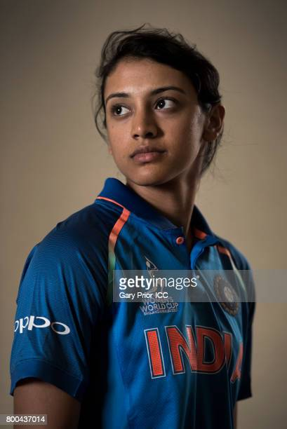 Smriti Mandhana of India on June 20 2017 in Derby England