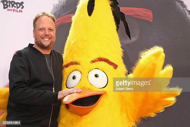 Smudo attends the premiere of 'Angry Birds Der Film' on May 01 2016 in Berlin Berlin