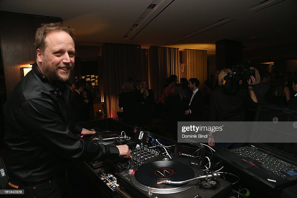 Smudo spinning the decks the Gala Star Night during the 63rd Berlinale International Film Festival at the Stue Hotel on February 9, 2013 in Berlin, Germany.