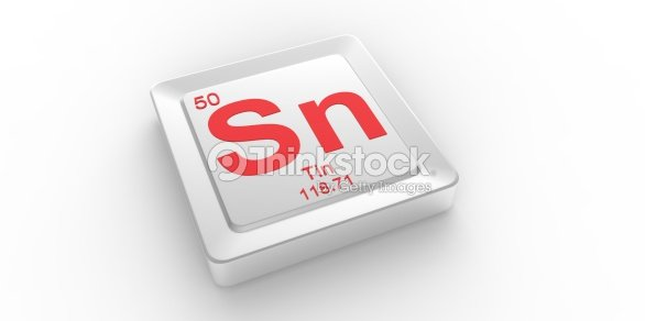 Sn Symbol 50 Material For Tin Chemical Element Stock Photo Thinkstock