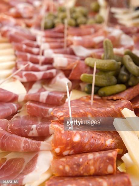 Snack mit prosciutto
