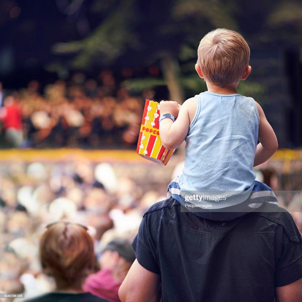 Snacks and entertainment : Stock Photo