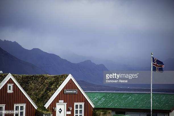 Snaefellness Peninsula, Cafe, Iceland