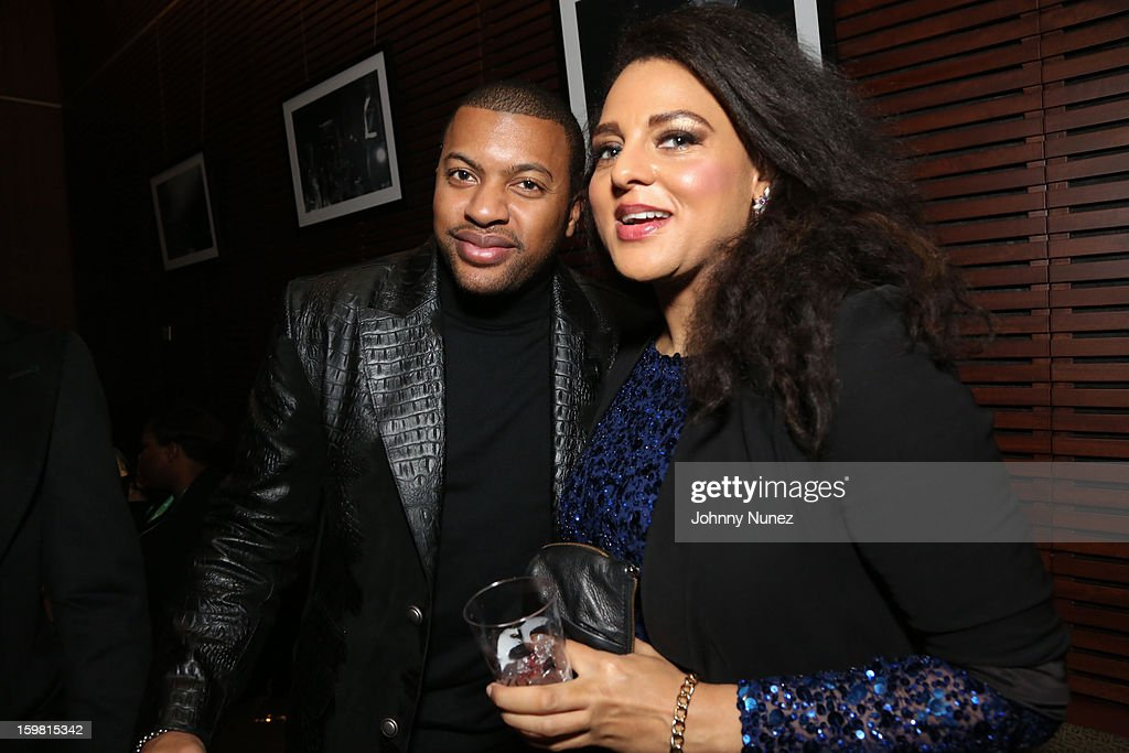Snagz and <a gi-track='captionPersonalityLinkClicked' href=/galleries/search?phrase=Marsha+Ambrosius&family=editorial&specificpeople=825480 ng-click='$event.stopPropagation()'>Marsha Ambrosius</a> attend The Hip-Hop Inaugural Ball II at Harman Center for the Arts on January 20, 2013 in Washington, DC.