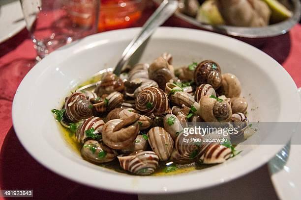 Snails snack