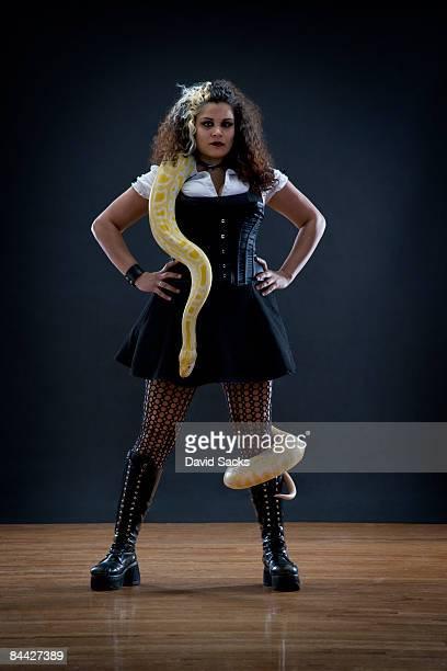 Snake handler.