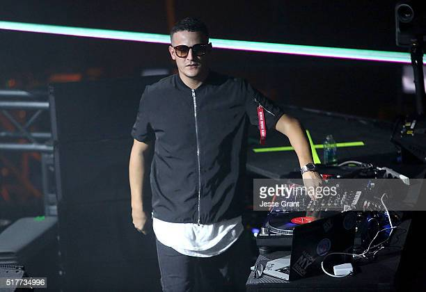 Snake performs at 971 AMP Radio's AMPLIFY 2016 at The Shrine Auditorium on March 26 2016 in Los Angeles California