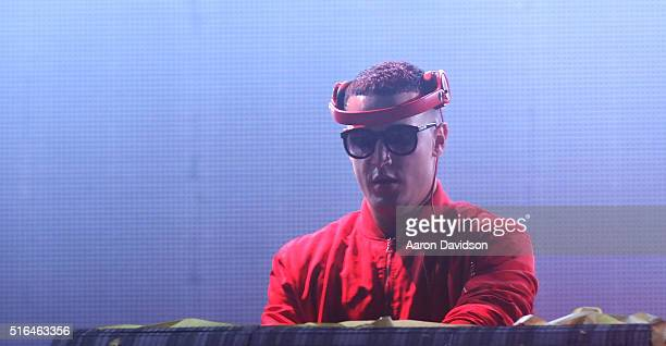 Snake performs at Ultra Music Festival 2016 on March 18 2016 in Miami Florida